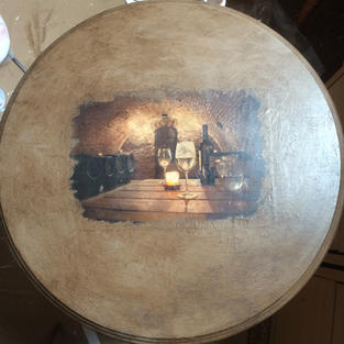 Wine table top