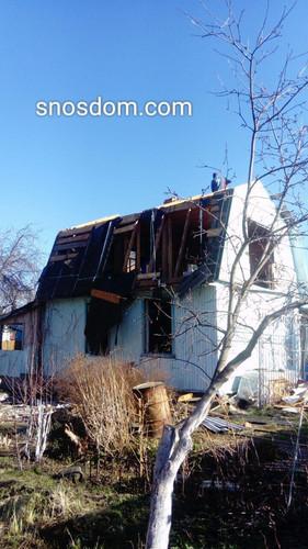 демонтаж дачного дома в екатеринбурге