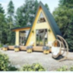 дом шалаш в калининград под ключ