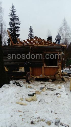 демонтаж каркасного дома в екатеринбурге