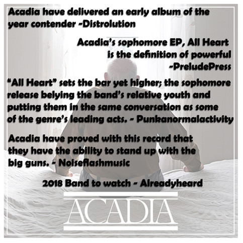 "Acadia ""All Heart"" out now"
