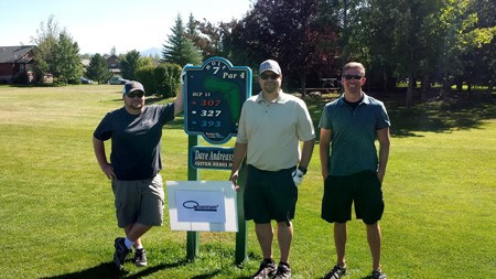 QUANTUM COMPOSERS ATTENDS ANNUAL HOPE AND THE HOLIDAYS GOLF SCRAMBLE