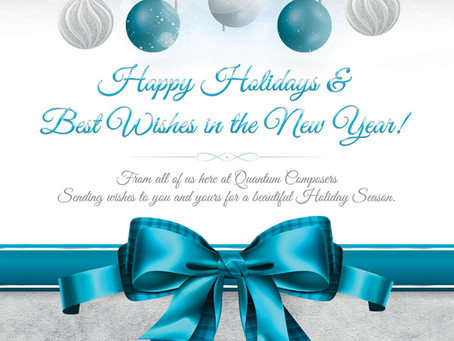 Happy Holidays from Quantum Composers