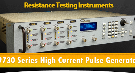 THE 9730 SERIES HIGH CURRENT PULSE GENERATORS FROM QUANTUM COMPOSERS