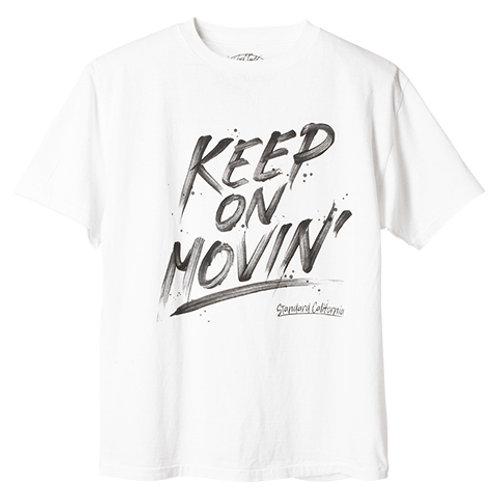 STANDARD CALIFORNIA/スタンダードカリフォルニア SD Keep On Movin' T