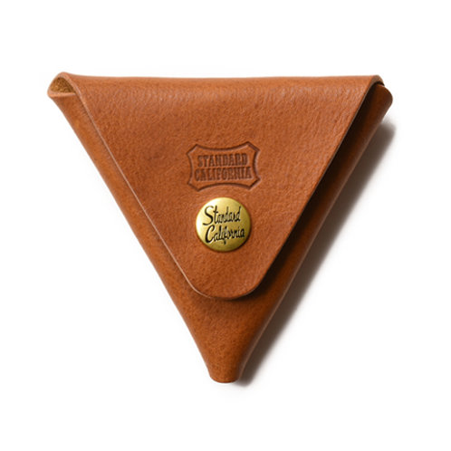 STANDARD CALIFORNIA/スタンダードカリフォルニア Button Works × SD Leather Triangle Coin Case