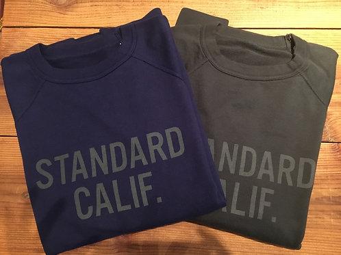 STANDARD CALIFORNIA/スタンダードカリフォルニア Reversible Pima Cotton Sweat