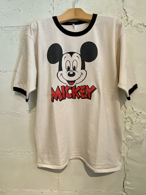 JACKSON MATISSE/ジャクソンマティス Mickey Mouse Ringer Tee
