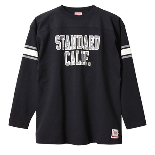 STANDARD CALIFORNIA/スタンダードカリフォルニア SD Heavyweight Football Long Sleeve T