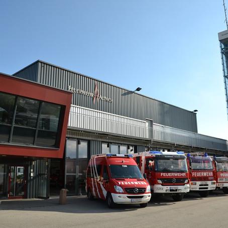 E39 - F14 Altach, Enderstrasse - Freie Montessori Schule  BMA hat ausgelöst