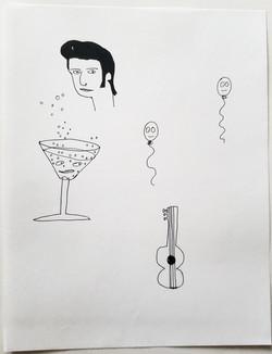 Elvis martini