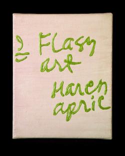 Flash Art, List Painting