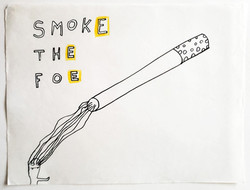 smoke the foe