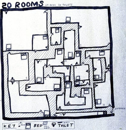 20 Rooms & Toilets