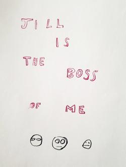 Jill is the Boss