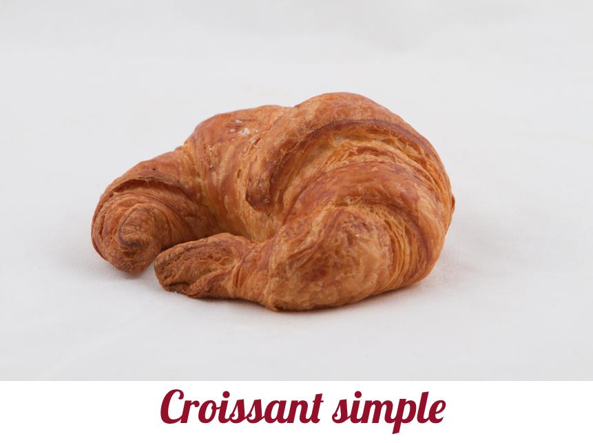 Croissant simple