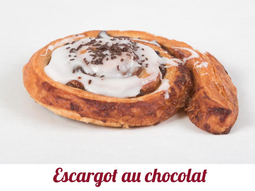 Escargot au chocolat