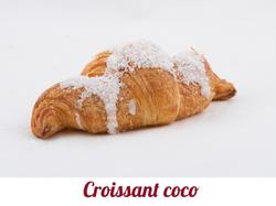 Croissant coco