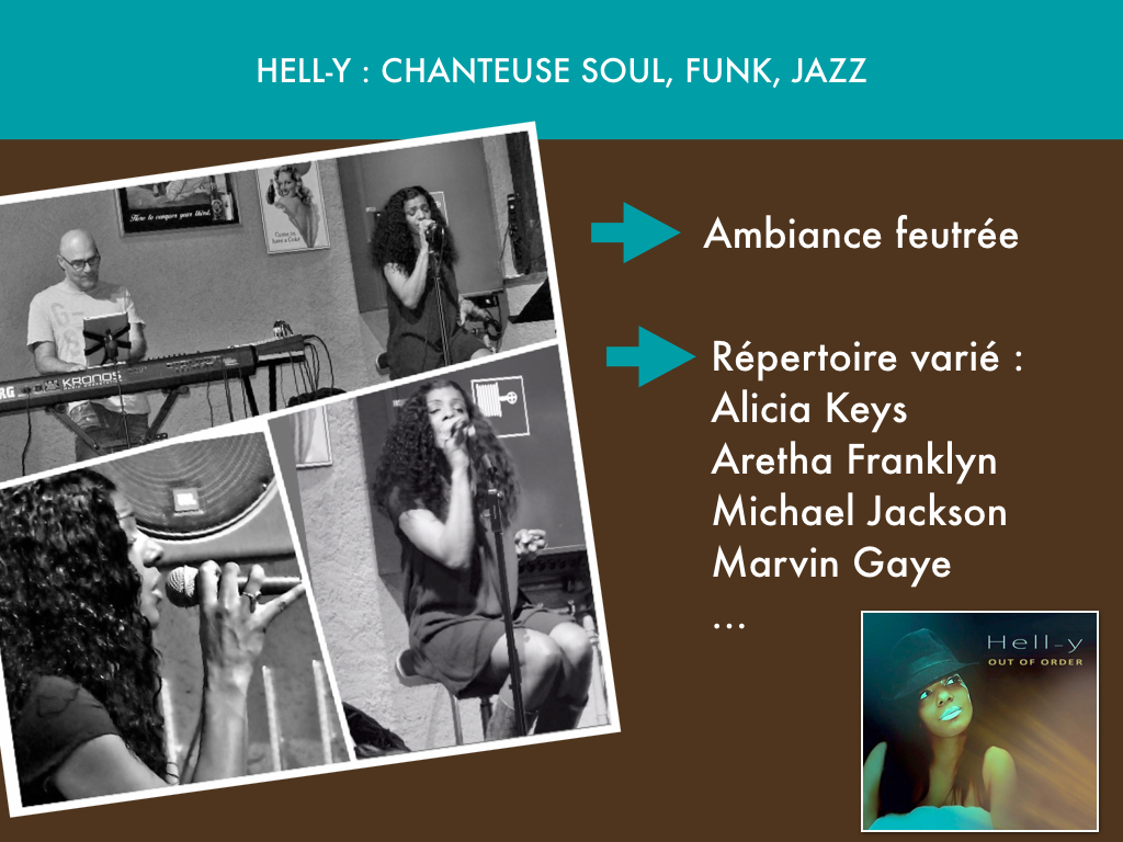Hell-y, chanteuse Soul