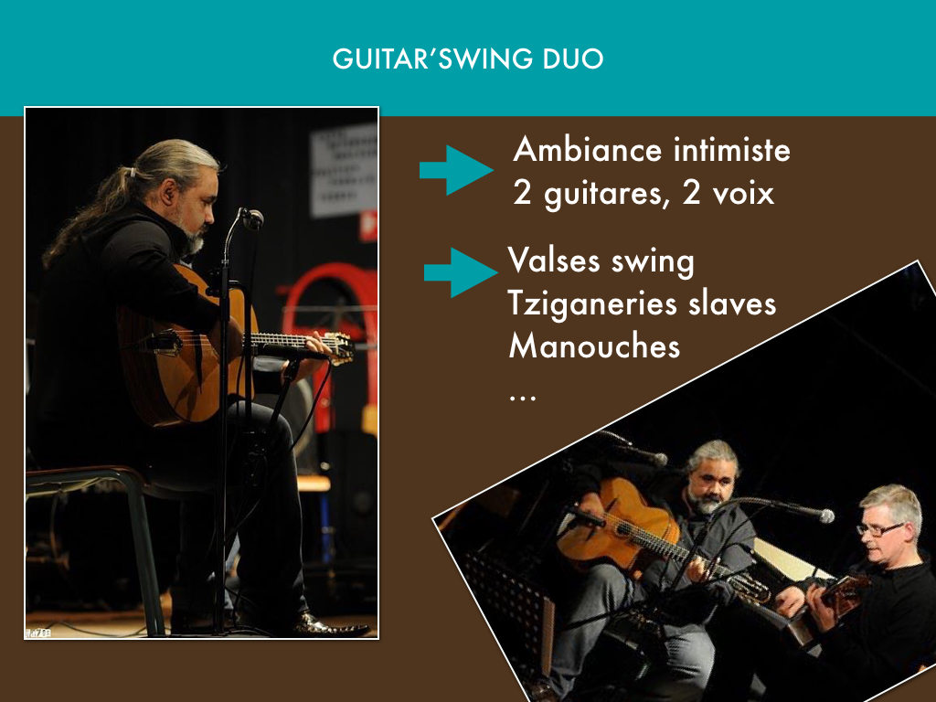 Guitar'swing duo