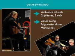 Guitar'swing duo