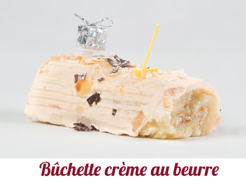 Bûchette crème au beurre