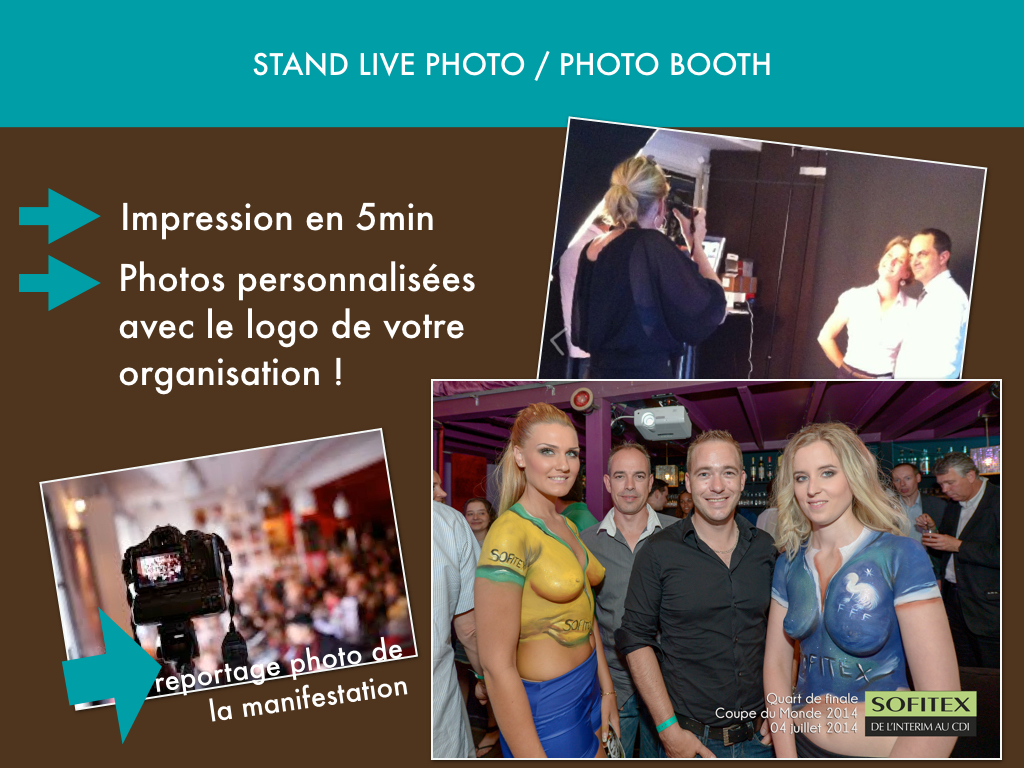 Stand live photo