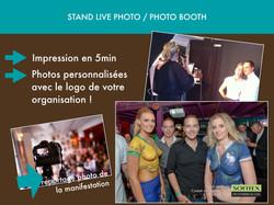 Stand live photo