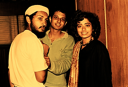 Bollywood Music Director Sawan Dutta as keyboardist with the initial lineup of Indian Ocean, with Rahul Ram and Shaleen Sharma
