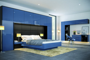 Zurfiz UG Baltic Blue UG Black Bedroom.j