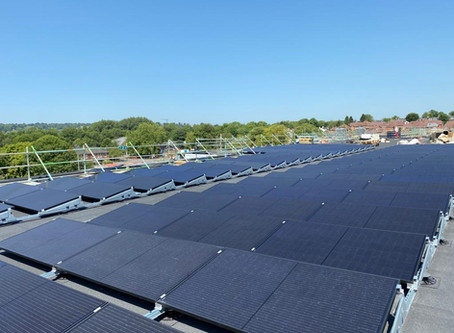 400 solar panels at new Winchester Sport & Leisure Park