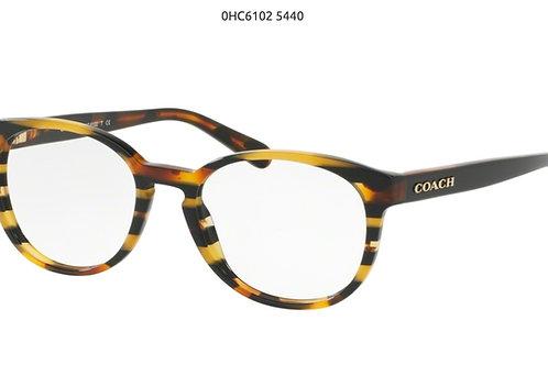 COACH Black amber 51-18-140 com pasta