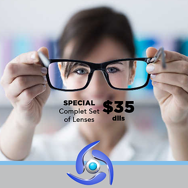 Complete set of lenses