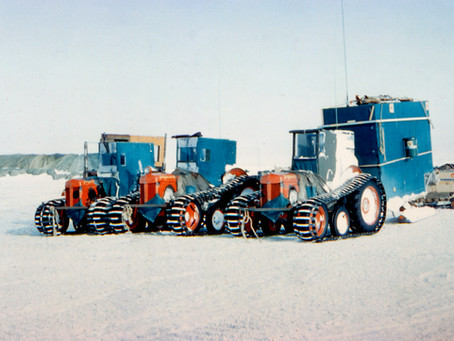 Great Drives 04 - The South Pole. By Tractor.