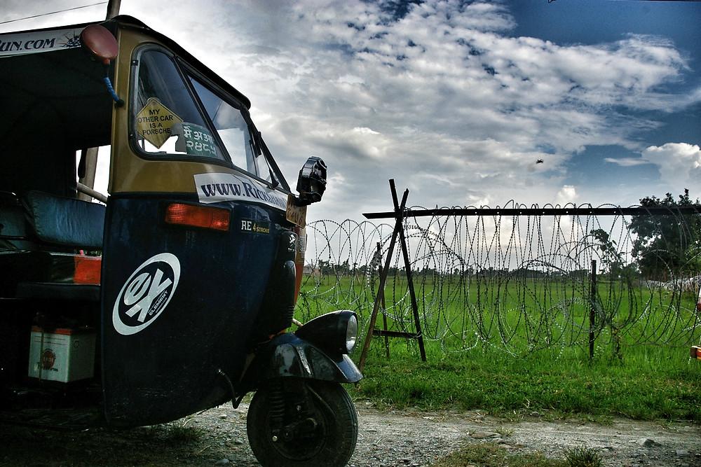 Rickshaw Run, Nepal.