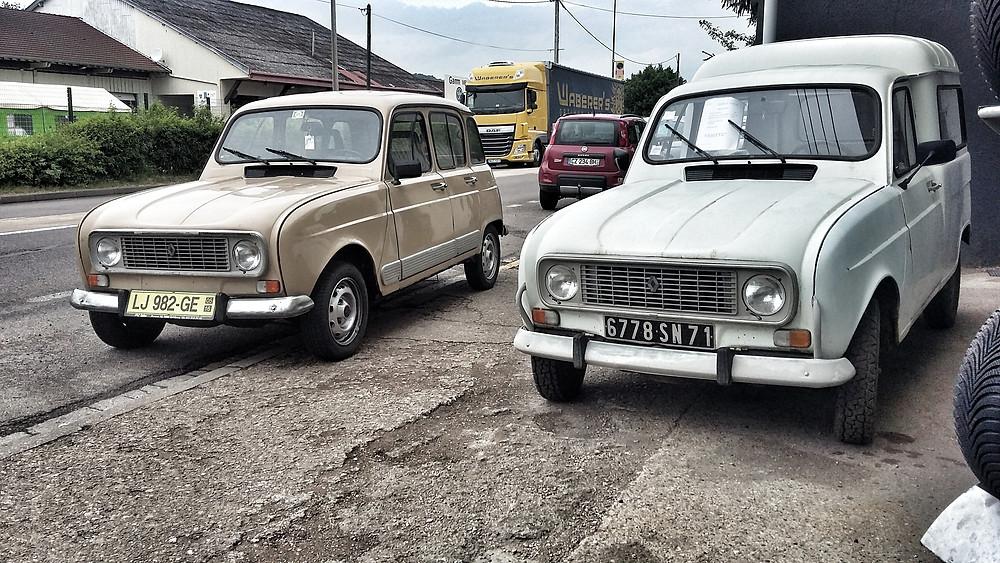 Renault 4 van and hatchback