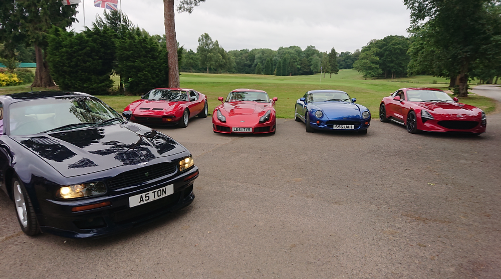 Aston Martin Vantage V600 and TVRs