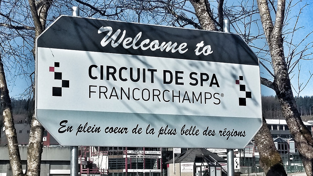 Spa Francorchamps GP Circuit.