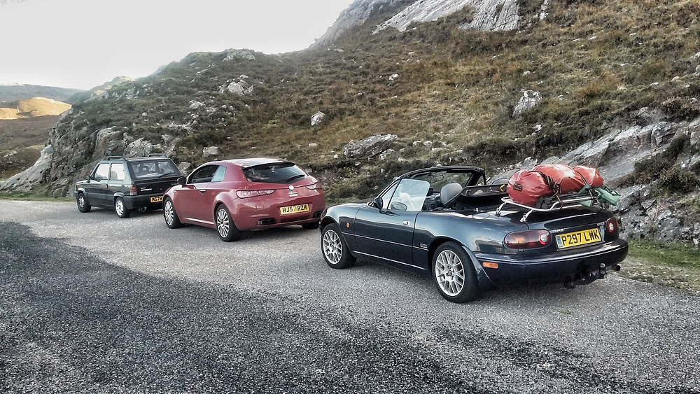 Mazda mk1 MX5 Eunos Miata luggage rack.