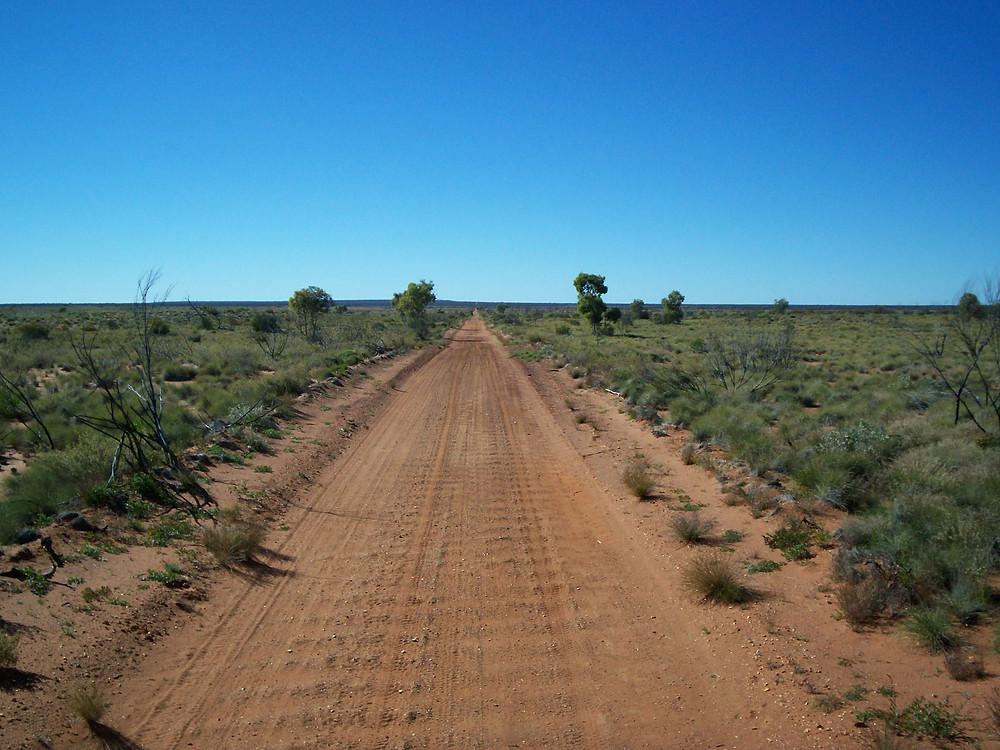 The Gunbarrel Highway, Australian Outback.
