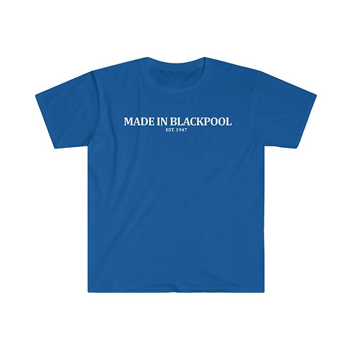 Men's 'Made in Blackpool' Softstyle Tee
