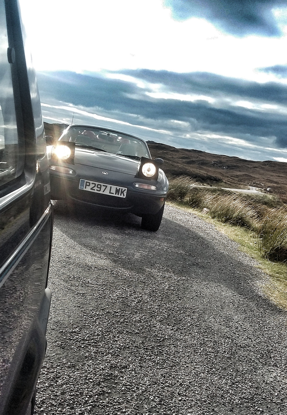 The ultimate British driving adventure.  NC500, MX5, road trip