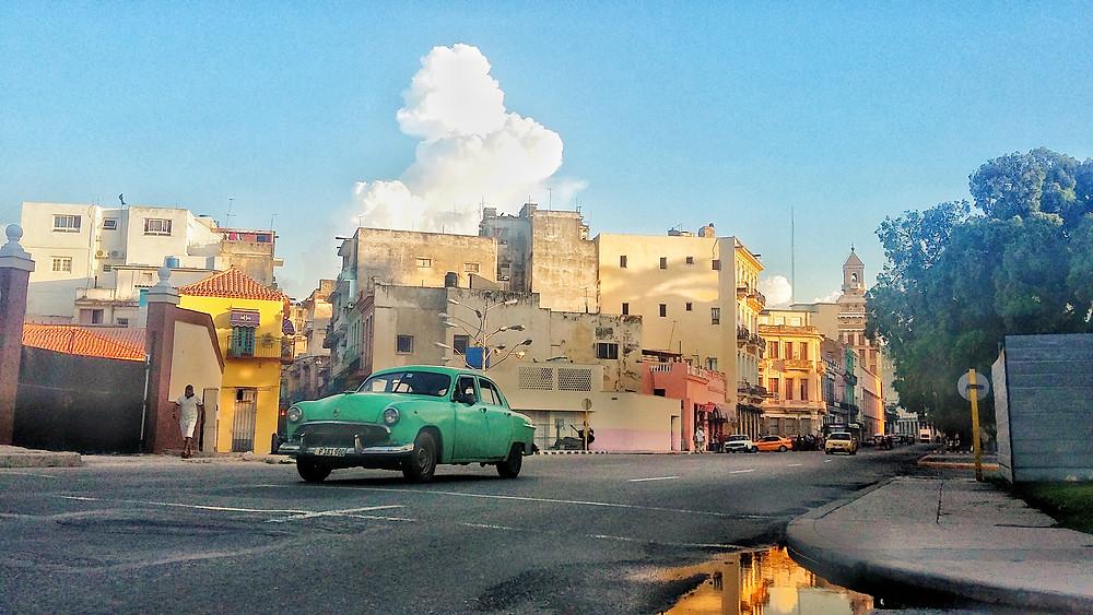motoring in Cuba