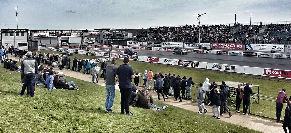 The Fast show, Santa Pod raceway