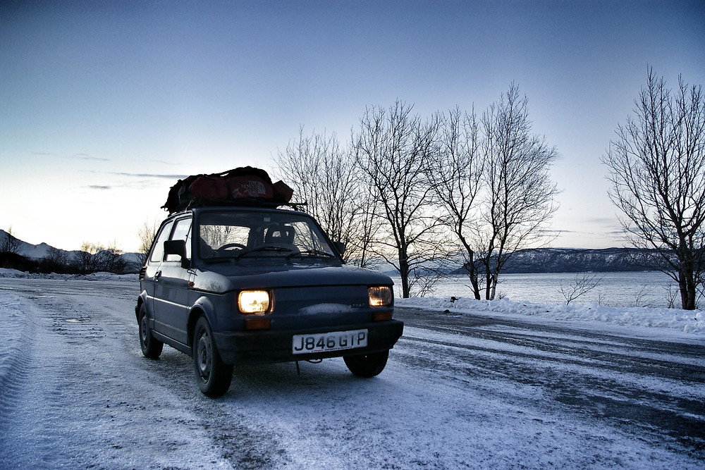 Fiat 126 expedition