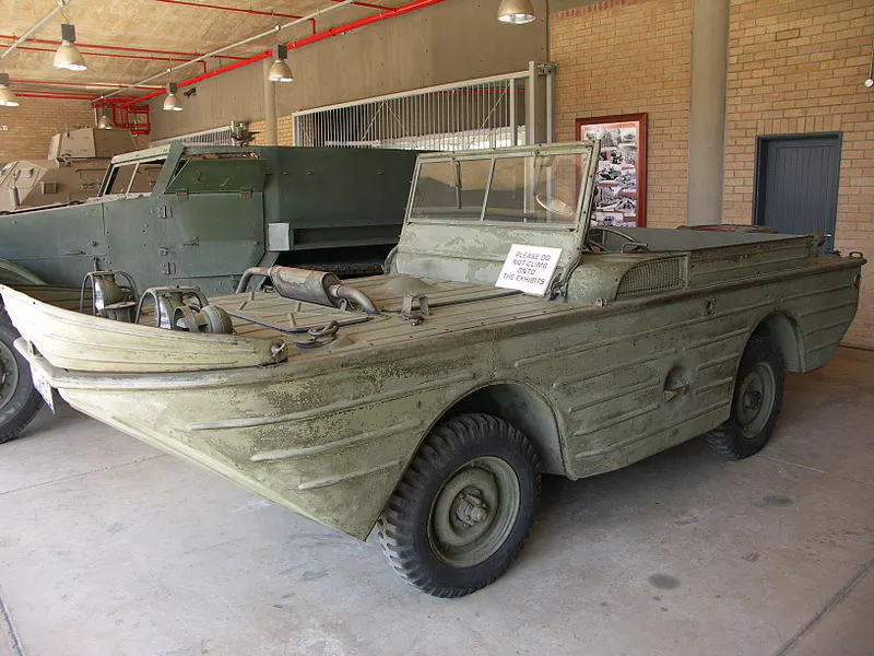 Ford GPA Amphibious Truck Ben Carlin amphibious car
