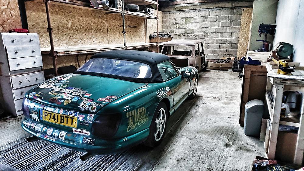 TVR garage