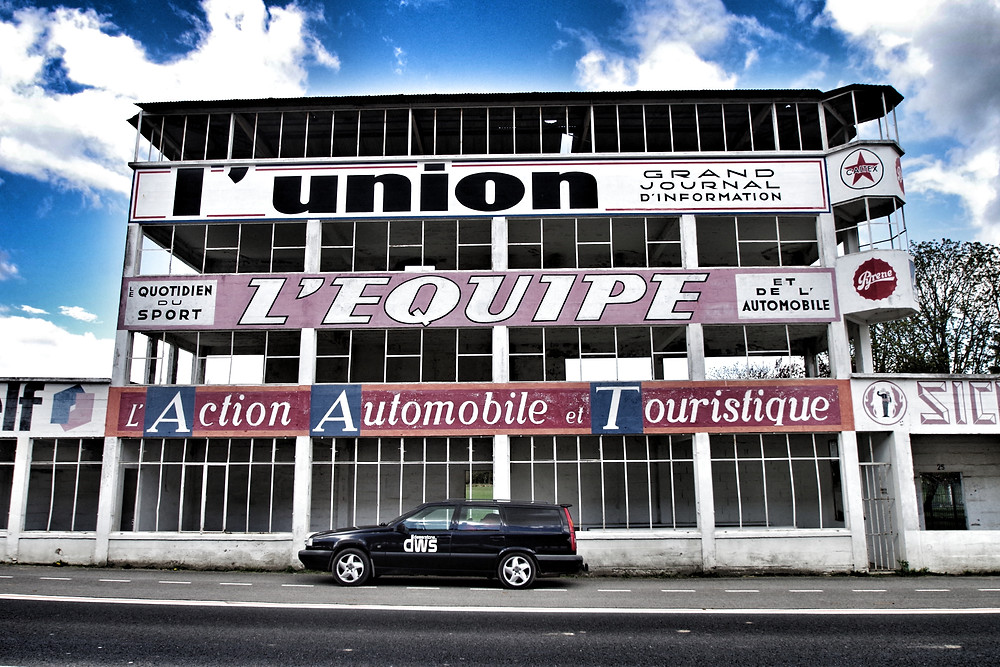 Reims-Gueux Grand Prix Circuit.