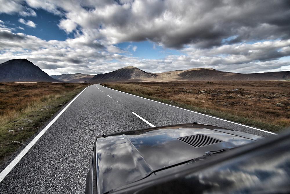 A82 Rannoch Moor road trip