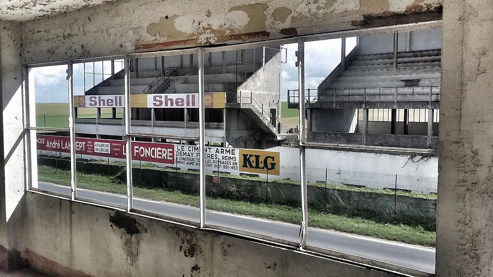 Reims GP Circuit buildings